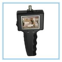 Portátil monitor de prueba CCTV de 2,5 pulgadas, probador de vídeo de cámaras de seguridad CCTV, monitores de seguridad, mini servicio de CCTV LCD Tester Monitor