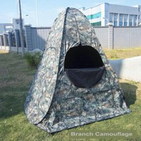 Wholesale Wood branch camouflage tent Army outdoor wild field hunting multisport cameraman photograph tabernacle Ameristep Hunter disguise
