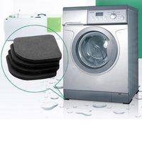 anti shock mat - 2015 Hot set Washing machine shock pads Non slip mats Refrigerator Anti vibration pad tinyaa