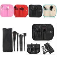 beautiful goats - Makeup Brushes Set Kit Beautiful Professional make Up brush Tools With Case zipper bag by DHL