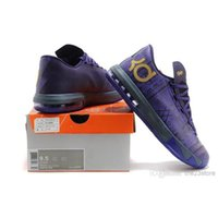 Cheap China Wholesale athletic sneakers KD 6 mens basketball shoes black history month purple Reliable Protection
