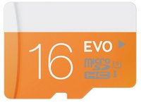 Wholesale Hot selling EVO GB GB GB Micro SD Card Class10 Card TF Card SD Adapter UHS SDXC SDHC For Samsung Smartphone With blister Package