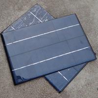 2 шт / Лот Солнечная панель сотового Вт для зарядного устройства рюкзак мощность 4,2Вт 18В 200 * 130 мм Бесплатная доставка