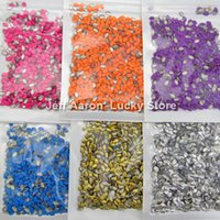 art access - ails Tools Rhinestones Decorations Candy neno Colors metal acrylic D nail art decoration rhinestone Tool Neon studs cell phone access