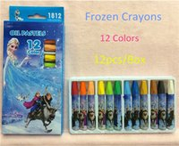 Wholesale Cartoon D stickers colorful foam stickers Elsa Anna Olaf Hans Kristoff Sven party supplies kids gifts