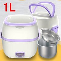 Wholesale hot sale mini rice cooker Electric Lunch Box full automatic bento box V L heat preservation kitchen dinnerware