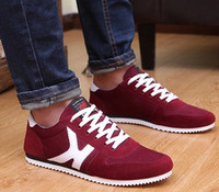 Wholesale Spring men exercise recreational shoe trends gump men s canvas shoes sneakers net cloth skate shoes running shoes