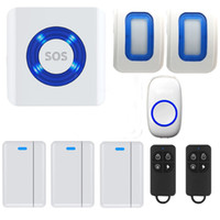 Wholesale Smart Doorbell IOS Android APP Controlled WIFI SOS Smart Enabled Cloud Alarm System Premium Portable Wireless Door Chime And Push Button