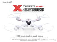 Wholesale NEW MJX X400 G RC quadcopter drone rc helicopter axis can add C4002 C4005 camera FPV quadcoptepr