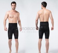 Wholesale Men s Body Contour Shaper Slimming Shorts Mid Thigh Leg Pant Shapewear Underwear