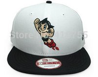 astro cap - New styles Astro Boy Gorras Cute Snapback Caps Cartoon Street Fashion Caps Classic Comic Hip Pop Dancing Hats