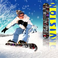 Wholesale Quality fashion free style snowboard slopestyle snowboarding Single snow skate skiing board cm ski board