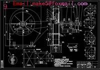 Wholesale GY6 NO5 A boiler centrifugal induced draft fan Drawings Full Machining drawings CAD