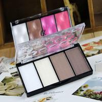 alpha base - 2015 New Arrival Styles Beauty Makeup Love Alpha Face Concealer Blush Palette Professional Women Base Colors Shadow Powder