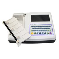 Wholesale Quality Guaranteed inch channel Color LCD ECG Machine DHL Shipping