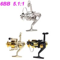 Cheap New 2014 6BB Ball Bearings Left Right Sea Fishing Reel Interchangeable Collapsible Handle Fishing Spinning Reel SG3000 5.1:1