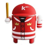 baseball audio - Wireless Bluetooth Mini Speaker Android Robot Baseball Guy Style Support TF Card FM Radio Speaker the Second Generation Android Speaker