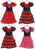 beautiful picks - New Girls dress Beautiful Spanish Flamenco Dance Dress flamenco dress size size U pick