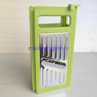 Wholesale Fold Grater Slicer Cutter Vegetable In Handle Stand Stainless Steel Home Furniture Kitchen Furniture