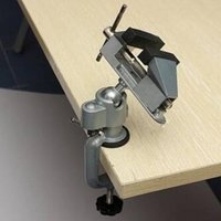 bench vises - BD tool Professional Vises Bench Swivel Vise With Clamp inch Tabletop Vise