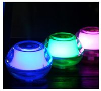 Wholesale Mini USB crystal night lamp humidifier air freshener with colorful light and aromatherapy function