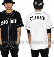 baseball trends - MISBHV KNYEW Baseball T shirt Jersey Trend Fashion Hip Hop Men Women Couples Sports Cotton T shirts