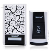 Wholesale Brand New Tones Wireless Remote Control Door Bell Waterproof Button Home Security b7