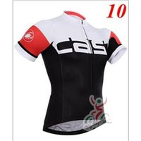 Wholesale Newest Cast Tour De France cycling jerseys Short sleeves None bib pants bike wear Quick Dry cycling jersey set XS XL