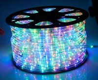Wholesale led strip high pressure lamp tape waterproof led flexible strip IP68 for Christmas tree swimming pool garden beach garden yacht DHL Free