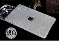 Wholesale For Ipad Mini Shiny Glitter Luxury Rainbow Full Body Sticker Cover Bling Diamond Colorful Front Back Side Skin Case