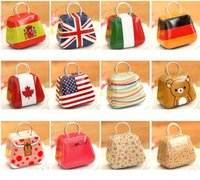 Wholesale New Handbag Mini Storage Tin Box Small Candy Box Cute Iron Box Different Design x5 X3 cm PH0015