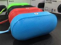 Wholesale Pill XL Bluetooth Speaker Mini Pill Speaker Subwoofer Stereo Speaker Bulit in Mic Handsfree Support TF USB mm Audio Big Sound Speaker