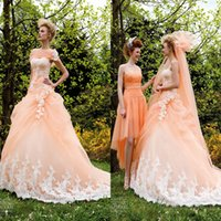 fabric tulle - 2015 Fashion Sweetheart Appliqued Wedding Dresses Charming Ruffles Sweep Train Pleatd Tulle Fabric Bridal Gowns Classic Garden Weddingdress
