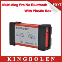 Cheap Multidiag pro+ 2014.2 version 2015 new tcs cdp+ with 4GB TF card + plactis box No bluetooth DHL Free Shipping