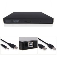 Wholesale New USB External DVD Combo CD RW CD RW Burner Drive Black