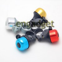 Wholesale Aluminum Bicycle Horns Bike Sports Cycling Bell Sounds Alarm Ring Handlebar Color Random
