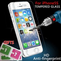 advance protector - For iPhone5s Tempered glass mm thin glass for iPhone5 advanced screen protection film for iphone5s screen protector glass