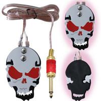 Wholesale 1pcs steel skull Tattoo equipment foot switch tattoo machine foot pedal tattoo accessories