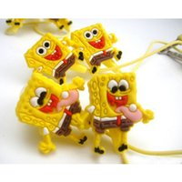 mp3 mp4 game - Cartoon SpongeBob MM Earphone Earbud Lovely In Ear Headset For Mp3 Mp4 Game Player Animation Headphone DHL