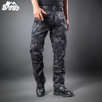 army fatigue clothing - Multicam Airsoft Military Camouflage Ix7 Pants Blind Hunting Clothing Tactical Cargo Pants Army Combat Pants Camouflage Fatigues