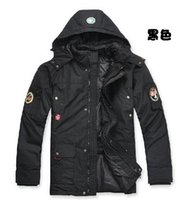 Wholesale 2015 New Men s Outdoor NAPAPIJRI jackets men long Hooded down jacket NAPAPIJRI detachable liner Warm winter jacket size S XL tK1444