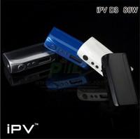 Ipv d3 Prix-Nouveau Authentique <b>IPV D3</b> Boîte Mod 80W TC Pioneer4you YiHi Chip contrôle de la température 18650 batterie vs IPV2 IPV4 IPV4S Sigelei 150w vapor mods