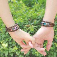Wholesale Bracelets Slake Bracelets Valentines Day Gifts Multi Designs Leather For Women Men Bracelet Hot Sale