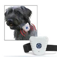 Wholesale Ultrasonic Stop Barking Device Anti Bark Ultrasonic Dog Collar Dog Shock Control Ultrasonic Anti Bark Training