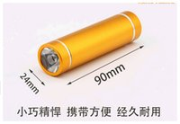 Wholesale Top quality Mini Portable W LED Flashlight Torch Light Lamp for Outdoor Camping Hiking New Promotion