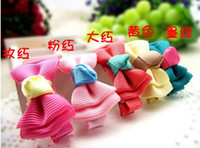 Wholesale n Baby Girls Hairgrips Cute Hair Bows Boutique Children Hair Clips Kids Hair Accessorie