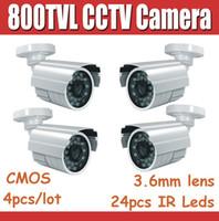 Video Camera better security - 800tvl IR outdoor CCTV camera IP66 Waterproof Bullet Security Camera with IR Cut for Better Image M IR Distance