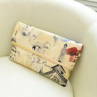 Cheap Eiffel Tower Handbag Shoulder Bag Hot Sale Designer Handbags Tote Purse Leather Envelop Messenger Free Shipping