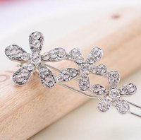 Wholesale Hairpin Bobby pin Barrette decorating with crystal noble and delicate for bride and high qu