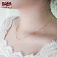 Cheap Pendant Necklaces Necklace Best South American Women's Rose gold necklace